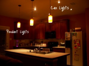 Kitchen Pendant Lighting Electrical Services