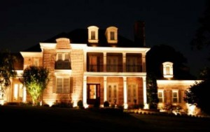 Outdoor Directional Lighting Electrical Services